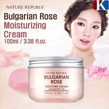 NATURE REPUBLIC Bulgarian Rose Moisture Cream 100ml Moisturizers  Korea Cosmetic