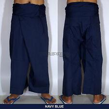 Thai Fisherman Pants Wickelhose YOGA Massage Kung Fu Tai Chi Casual Wrap Trouser
