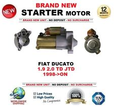 FOR FIAT DUCATO 1.9 2.0 TD JTD 1998-ON STARTER MOTOR 1.7kW 13Teeth OE QUALITY