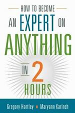 How to Become an Expert on Anything in Two Hours-ExLibrary