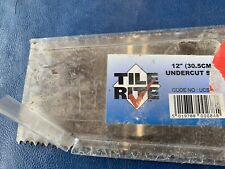 TILE RITE UCS084 Dual Sided UNDERCUT jamb SAW Steel Tooth Blade305mm