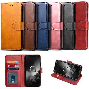 For Alcatel 1 1X 3L 3X  2020 1C 1S 1V 1B Case Leather Wallet Cover Flip Luxury