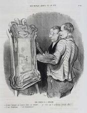 Honore Daumier France 1808 -1879 Lithograph Les Beaux Jours de la Vie No. 41