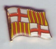 Barcelona flaggenpin, flag, pin, badge, españa, ele