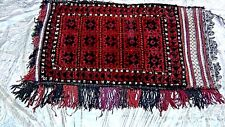Antique Authentic Camel Afhgani Tent Rug Bag