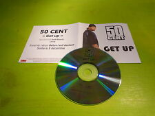 50 CENTS - GET UP !!!!!!!!!!!!!!!!!!!!!!!! FRENCH PROMO CD!!!!!!!