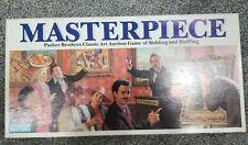 Parker Bros. Masterpiece Classic Art Auction Board Game Deception vtg 1987