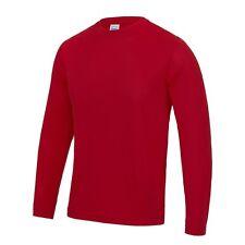 27daa52c1b462 Manga Larga para Hombre Transpirable Poliéster Cool Athletic Camiseta