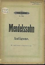 Mendelssohn ~ Elias - Klavier-Auszug mit Text