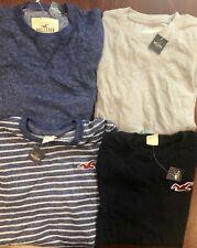 NWT Mens Small SM S Hollister Abercrombie Lot 4 Long Sleeve Shirt  Worldwide