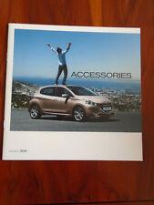 Peugeot 208 Accessories range brochure c2012