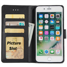 Case For Apple iPhone 6s 6 7 8 5 Se XR Magnetic Flip Leather Wallet Luxury Cover