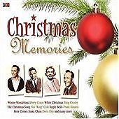 VARIOUS ARTISTS Christmas Memories 3 CD BOX SET      NEW - STILL SEALED