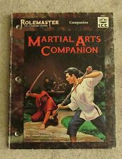 rolemaster  martial arts companion        rpg  book dungeons & dragons