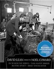 David Lean Directs Noel Coward Criterion Collection 4 Dis 2012 Blu Ray