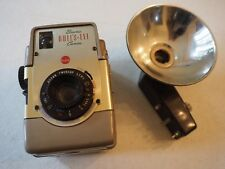 "KODAK BROWNIE BULL'S-EYE, USES 620 FILM, ""Gold color"" RARE version, brown flash"
