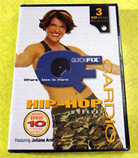 QuickFix - Cardio Hip-Hop Workout  ~ New DVD Video ~ Juliane Arney Exercise