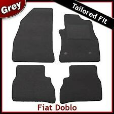 FIAT Dobl (2010 2011 2012) montata su misura moquette tappetini Grigio