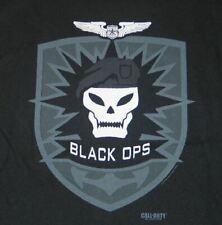 Call of Duty Black Ops Logo Art Image T-Shirt NEW UNWORN