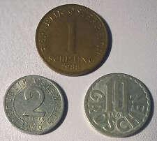Sonstige österreichische Münzen Vor Euro Einführung Günstig Kaufen