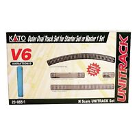 Kato 20-865-1 N Scale V6 Outside Loop Track Set