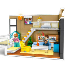 310pcs Modern House Model Building Blocks sets with Figures Street Toys Bricks
