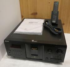 Serviced Sony CDP-CX355 300 CD Mega Storage CD Changer Jukebox