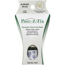 Porc-A-Fix Porcelain Touch-up Paint Glaze Repair Scratch Kohler Almond