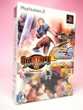 Used PS2 CAPCOM VS. SNK 2 Street Fighter III Value Pack Fighting games from JP