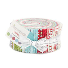 Moda Cookie Exchange by Sweetwater Jelly Roll 100 Cotton Quilting Fabric 5620JR
