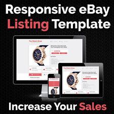 25677f85c5 eBay Listing Template Auction HTML Responsive Mobile Shop Design Templates