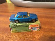 Matchbox Superfast #56 Mercedes 450SEL -Blue - Boxed