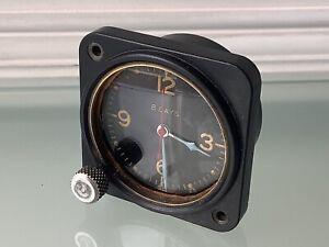 Vintage WW II US Aircraft 8 Day Clock