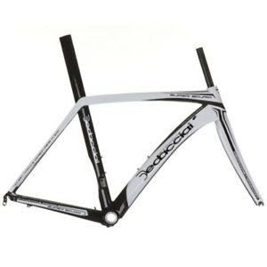New Dedacciai Strada Carbon Super Scuro Road Bike Frameset - S, White