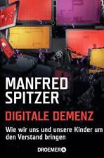 DIGITALE DEMENZ ►►►ungelesen ° von Manfred Spitzer ° Taschenbuch ‹^^›‹(•¿•)›‹^^