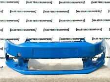 VW POLO 6C 2015-2017 FRONT BUMPER BLUE GENUINE [V273]