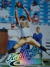 NFL 162 Andre Hastings New Orleans Saints Fleer Ultra 1999