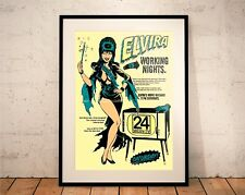 Elvira. Limited Edition Print. Mistress of the Dark. 80s Cult (Prints/Poster)
