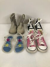 Converse Circo Carters Girls Toddler Youth Size 7 Shoe Lot Of 4