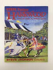 Dungeons & Dragons Steve Jackson sistema de juego de rol RPG GURPS Fantasía harkwood