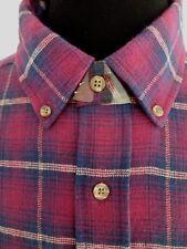 New Men's High Sierra 100% Cotton Long Sleeve Flannel Shirt Size XXL New
