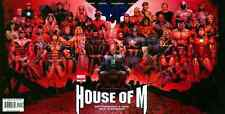 HOUSE OF M #1-8 NM VARIANTS COMPLETE SET 2005 ASTONISHING X-MEN AND NEW AVENGERS