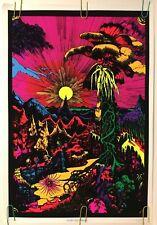 Vintage Lost horizons  NOS Black light Poster original 1970/'s  Head Shop