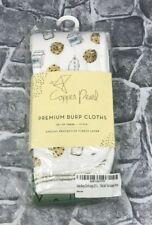 Baby Burp Cloth Large 21''X10'&# 039; Premium Fleece Layer 3-Pack Gift Chip Set New