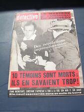Détective 1966 1063 DORIGNIES DOUAI ANNAPPES VILLENEUVE ASCQ MARIGNANE