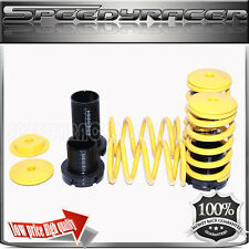 Coilover Lowering Spring Kits Adj. for 90-99 Eclipse Sentra Tercel Corolla Gold