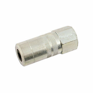 GREASE GUN END HOSE CONNECTOR PRESSURE NIPPLE COUPLER 4 JAW