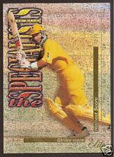 FUTERA 1995/96 CRICKET MARK WAUGH (Australia) SPECIALISTS No TS6