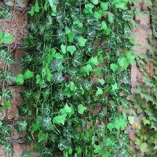 12 piezas plantas Colgante de Hoja de Vid Hiedra Artificial Decoración del Hogar-hoja de patata dulce