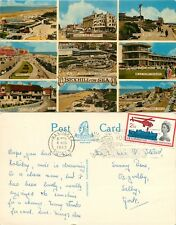 s07360 Bexhill-on-Sea, Sussex, England postcard posted 1963 stamp